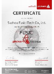 PICKERT & FUSIC PARTNER 证书