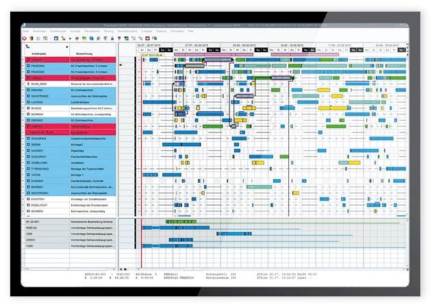 生产排程 APS